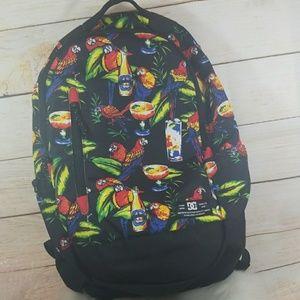 RARE Like new DC Parrot design full size backpack